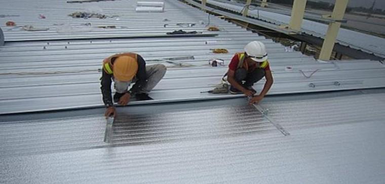Công trình sửa mái tôn