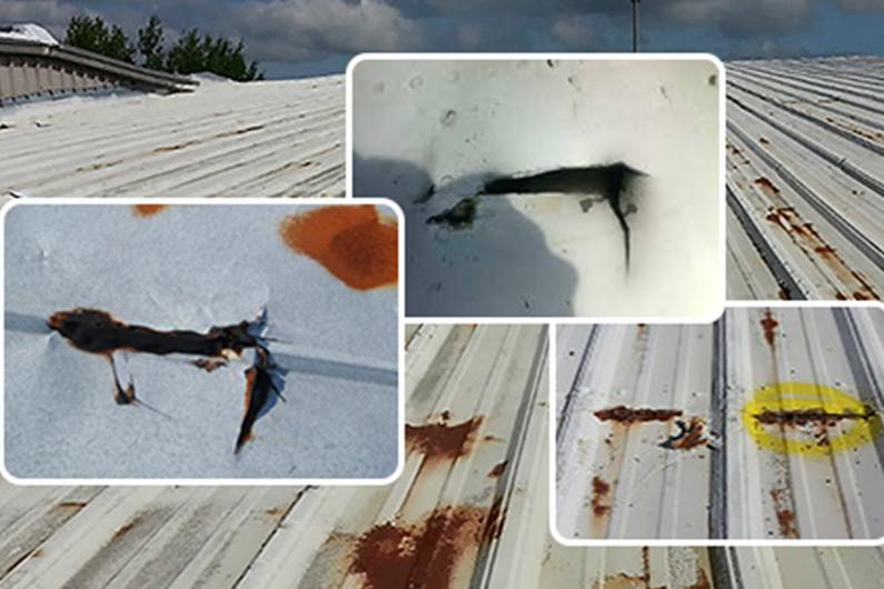 cách sửa mái tôn bị dột 3