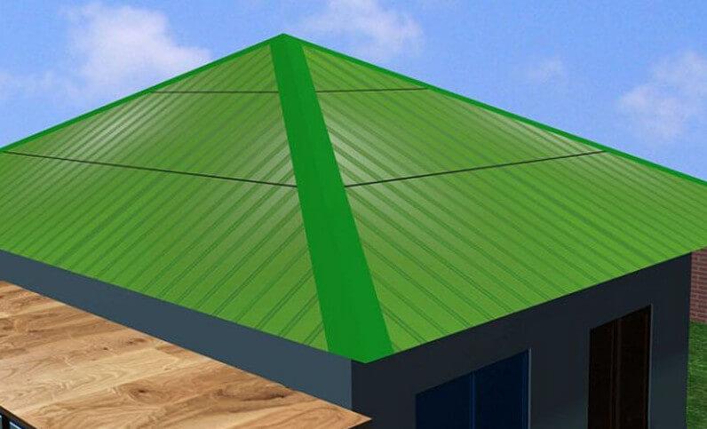 lắp đặt tấm che nối giúp mái tôn bền hơn