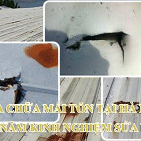 sửa chữa mái tôn tại Hà Nội
