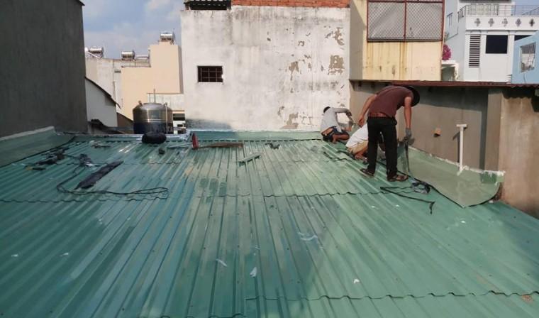 Sửa mái tôn tại Hà Đông
