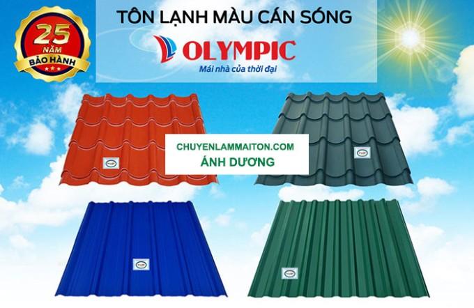 Ánh Dương phân phối tôn Olympic