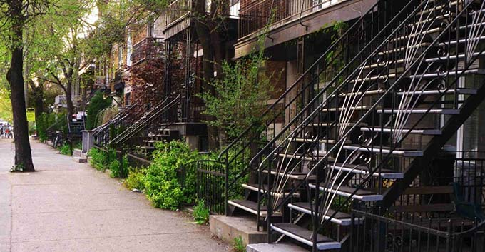 Cầu thang sắt ngoài trời 9