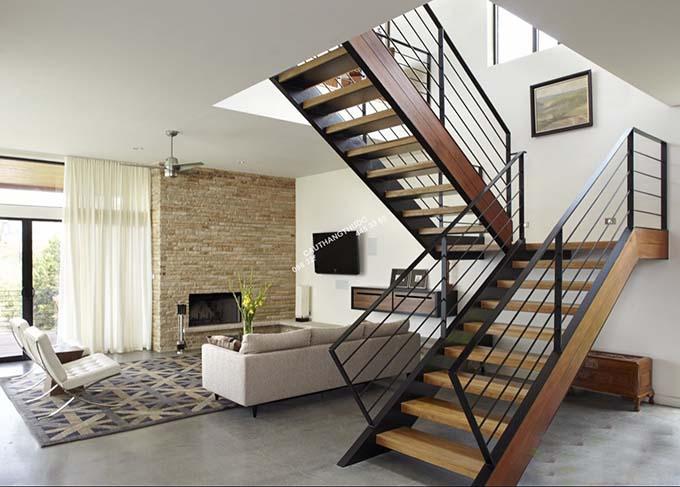 Mẫu cầu thang sắt 15