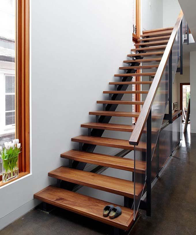 Mẫu cầu thang sắt 22