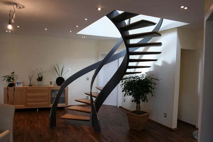 Mẫu cầu thang sắt 3