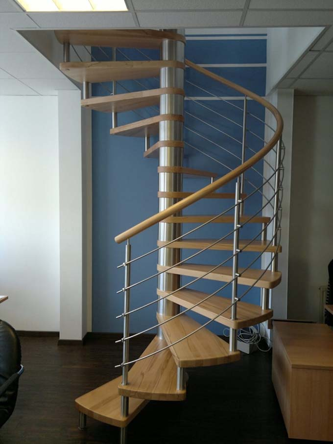 Mẫu cầu thang sắt 35