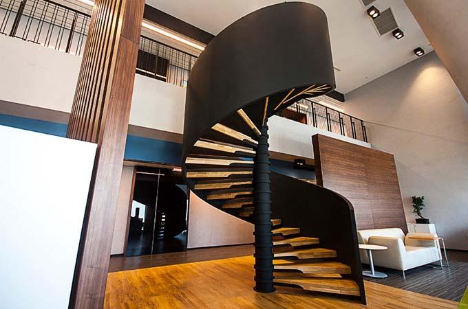 Mẫu cầu thang sắt 43