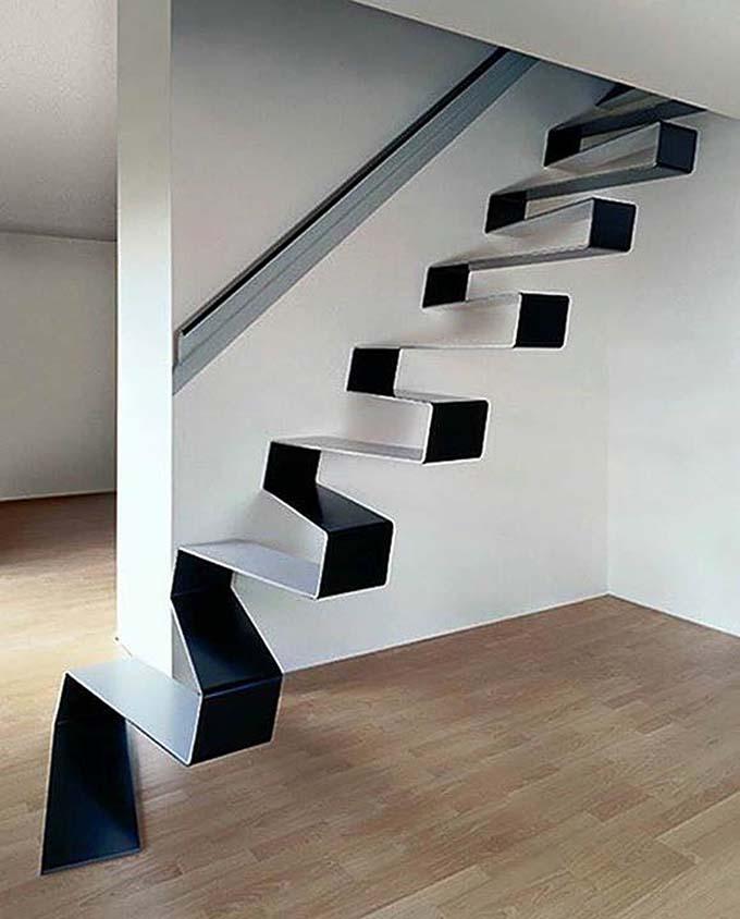 Mẫu cầu thang sắt 44