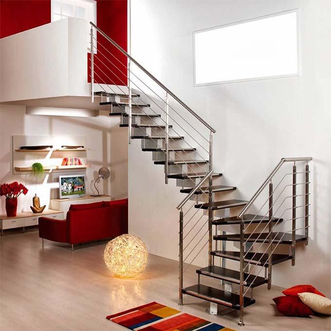 Mẫu cầu thang sắt 5