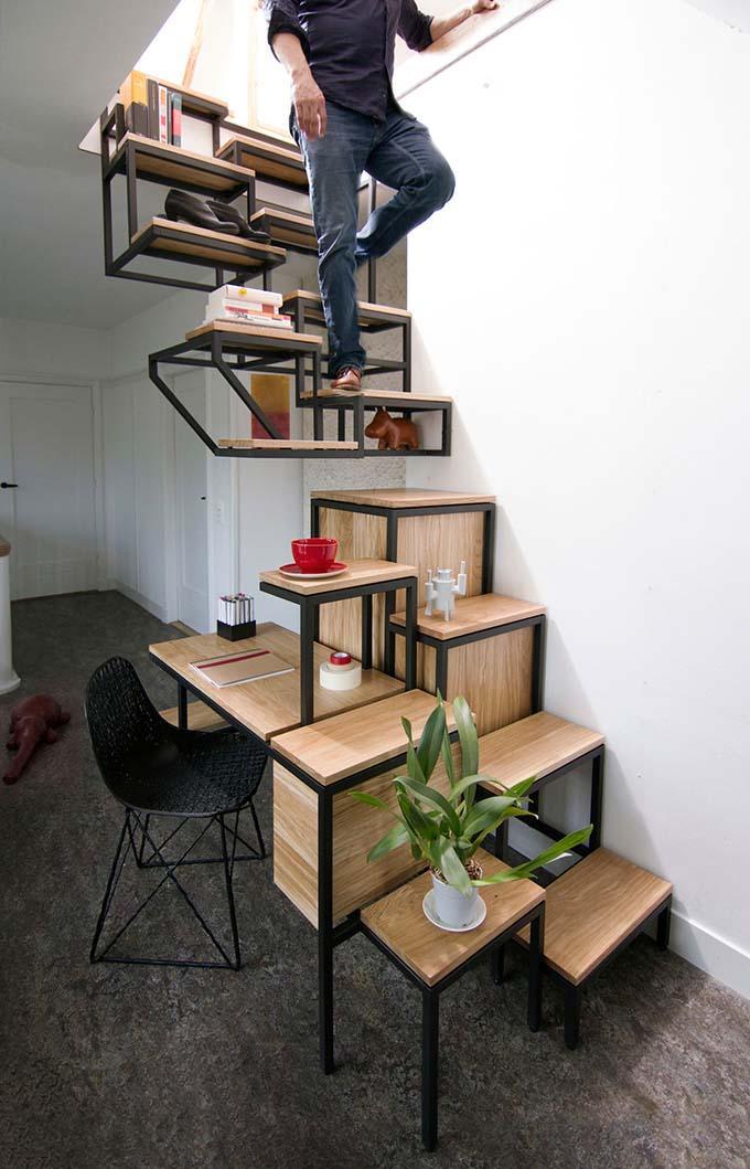 Mẫu cầu thang sắt 8