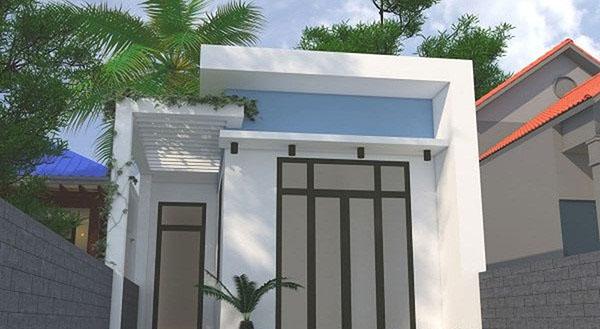 mẫu nhà 1 tầng mái bằng ở nông thôn