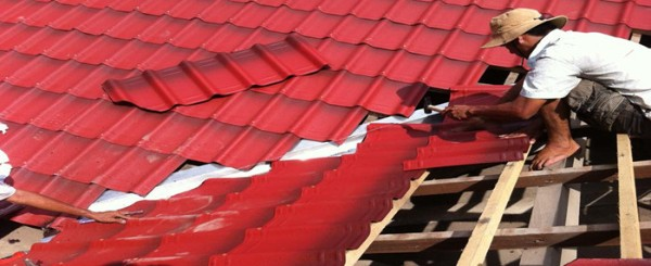 Các loại vật liệu lợp mái nhà