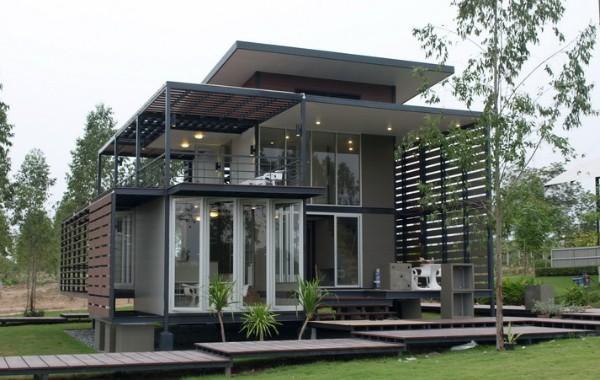 Mẫu xây nhà bằng vật liệu nhẹ 17