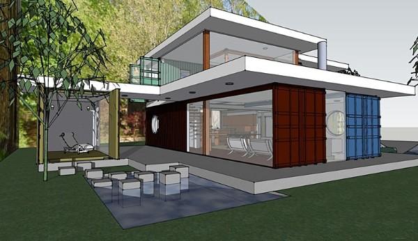 Mẫu xây nhà bằng vật liệu nhẹ 3