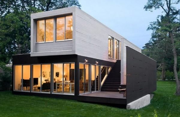 Mẫu xây nhà bằng vật liệu nhẹ 7