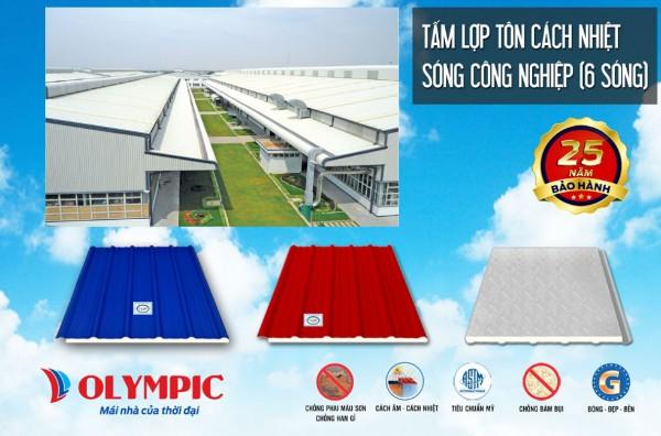 Tôn chống ồn PU Olympic
