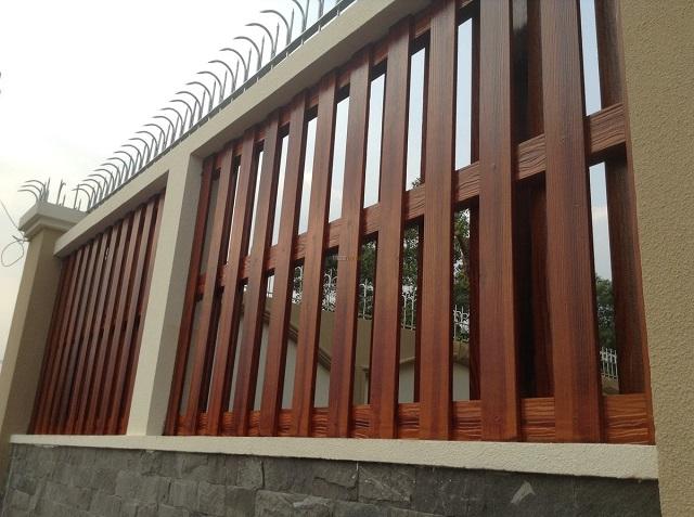 Mẫu hàng rào bằng sắt