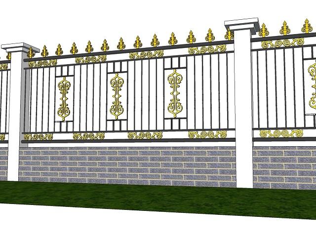 Mẫu hàng rào cổ điển