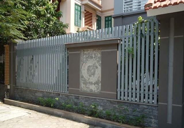 Hình ảnh hàng rào sắt số 1