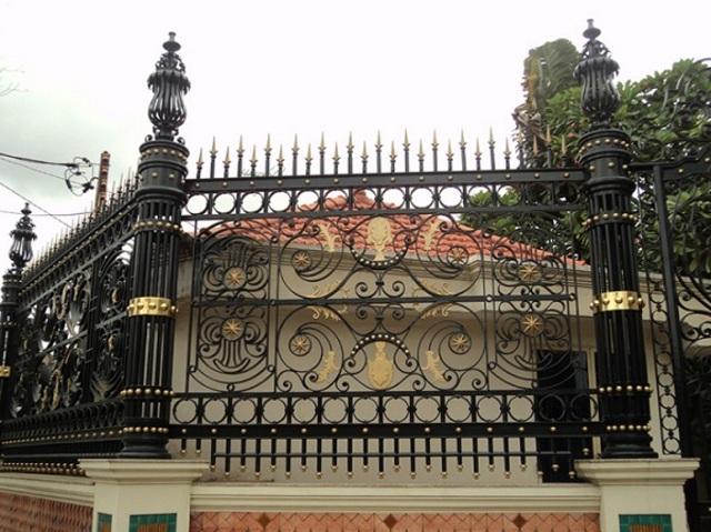Hình ảnh hàng rào sắt số 10