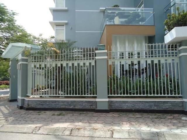 Hình ảnh hàng rào sắt số 12