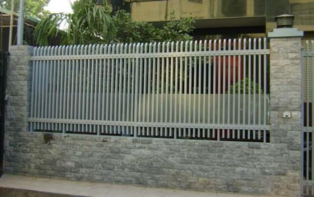 Hình ảnh hàng rào sắt số 13