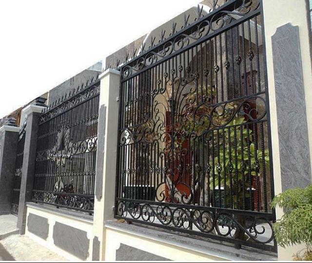 Hình ảnh hàng rào sắt số 14