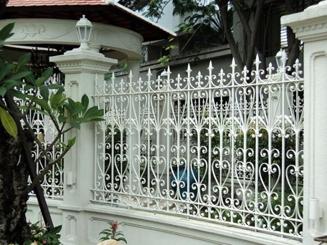 Hình ảnh hàng rào sắt số 15
