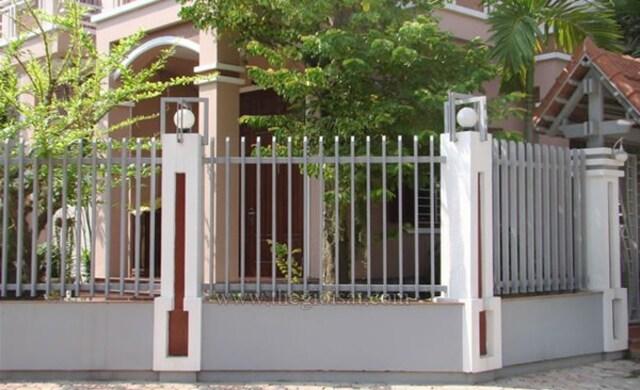 Hình ảnh hàng rào sắt số 16