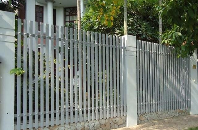 Hình ảnh hàng rào sắt số 17