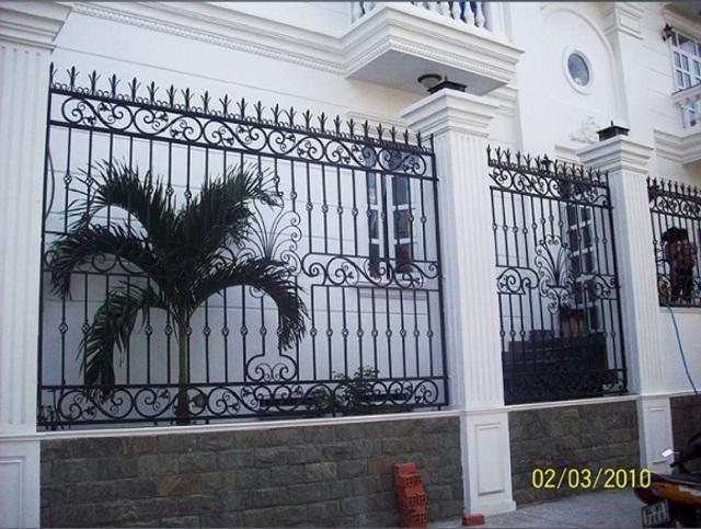 Hình ảnh hàng rào sắt số 18