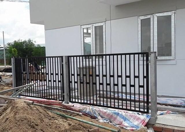 Hình ảnh hàng rào sắt số 21