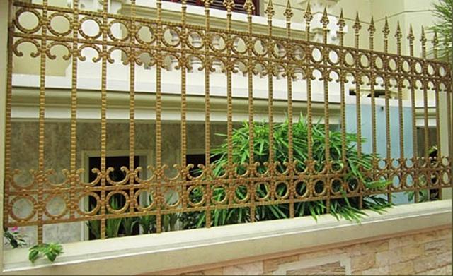 Hình ảnh hàng rào sắt số 23