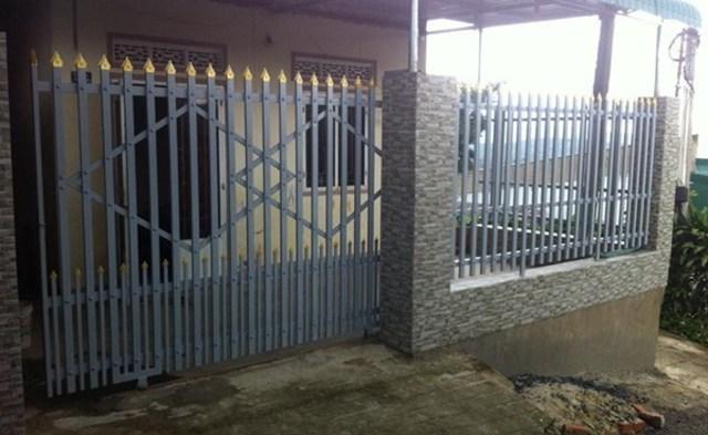 Hình ảnh hàng rào sắt số 24