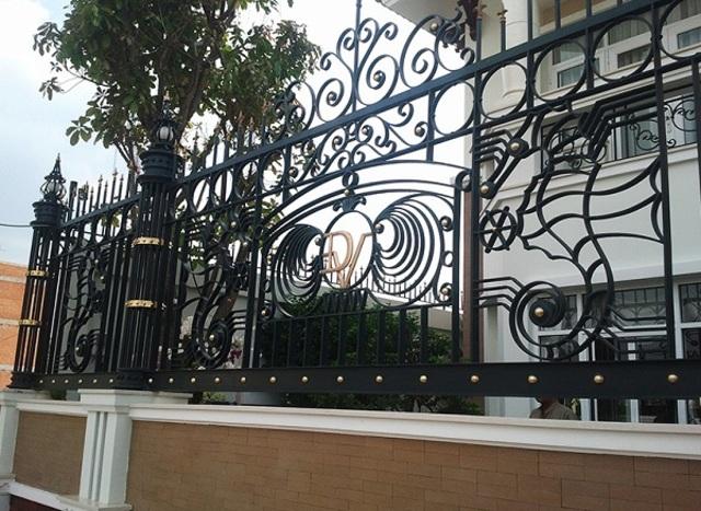 Hình ảnh hàng rào sắt số 26