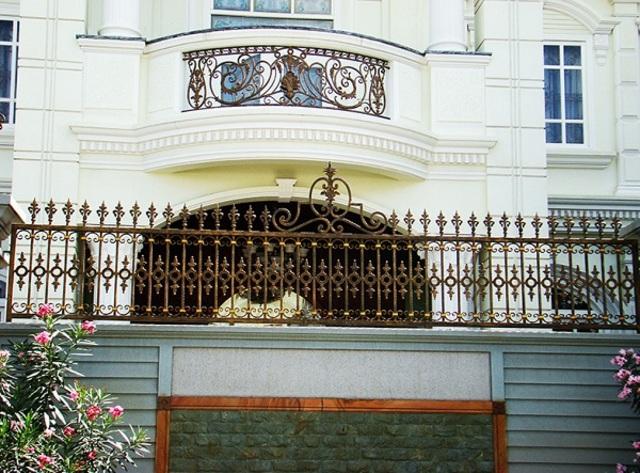 Hình ảnh hàng rào sắt số 27