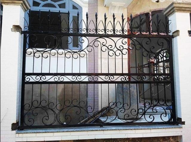 Hình ảnh hàng rào sắt số 3