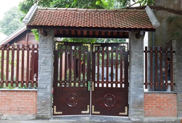 Hình ảnh hàng rào sắt số 30