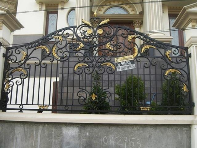 Hình ảnh hàng rào sắt số 4