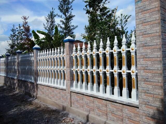Hình ảnh hàng rào sắt số 6