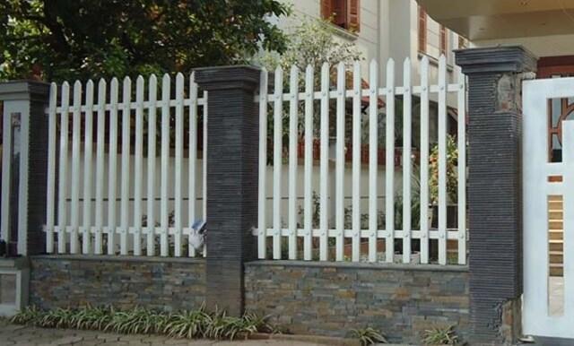 Hình ảnh hàng rào sắt số 7