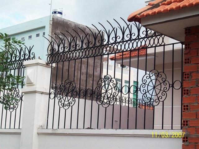 Hình ảnh hàng rào sắt số 9