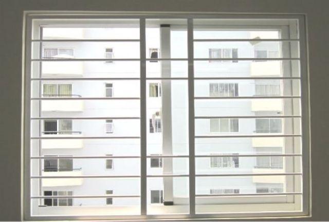 Khung sắt cửa sổ đơn giản mẫu 1