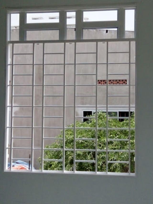 Khung sắt cửa sổ đơn giản mẫu 15