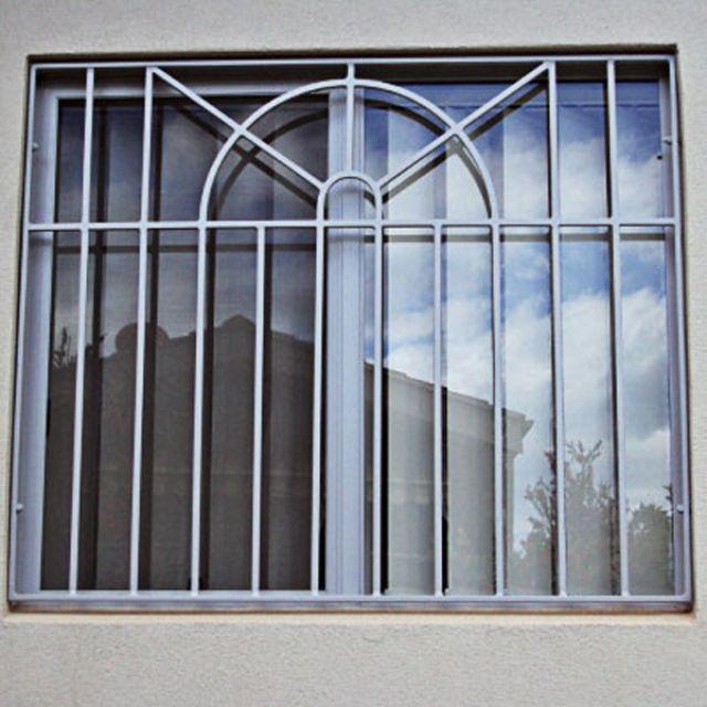 Khung sắt cửa sổ đơn giản mẫu 2