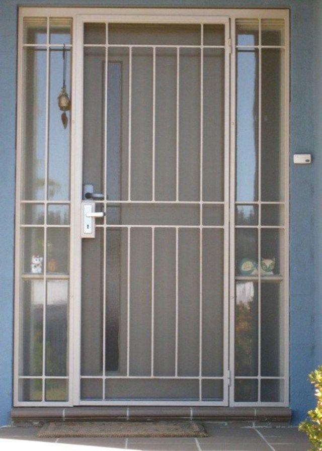 Khung sắt cửa sổ đơn giản mẫu 3
