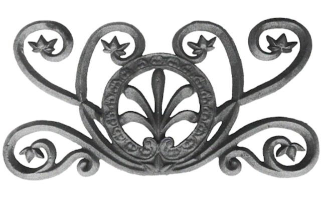 Mẫu phụ kiện sắt mỹ thuật 1