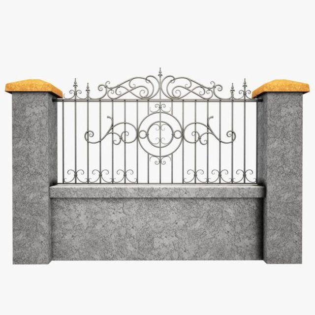 Mẫu thiết kế hàng rào sắt số 5
