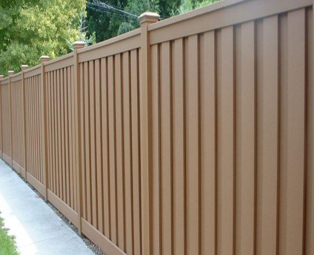 Mẫu tường rào cổng ngõ bằng gỗ 2